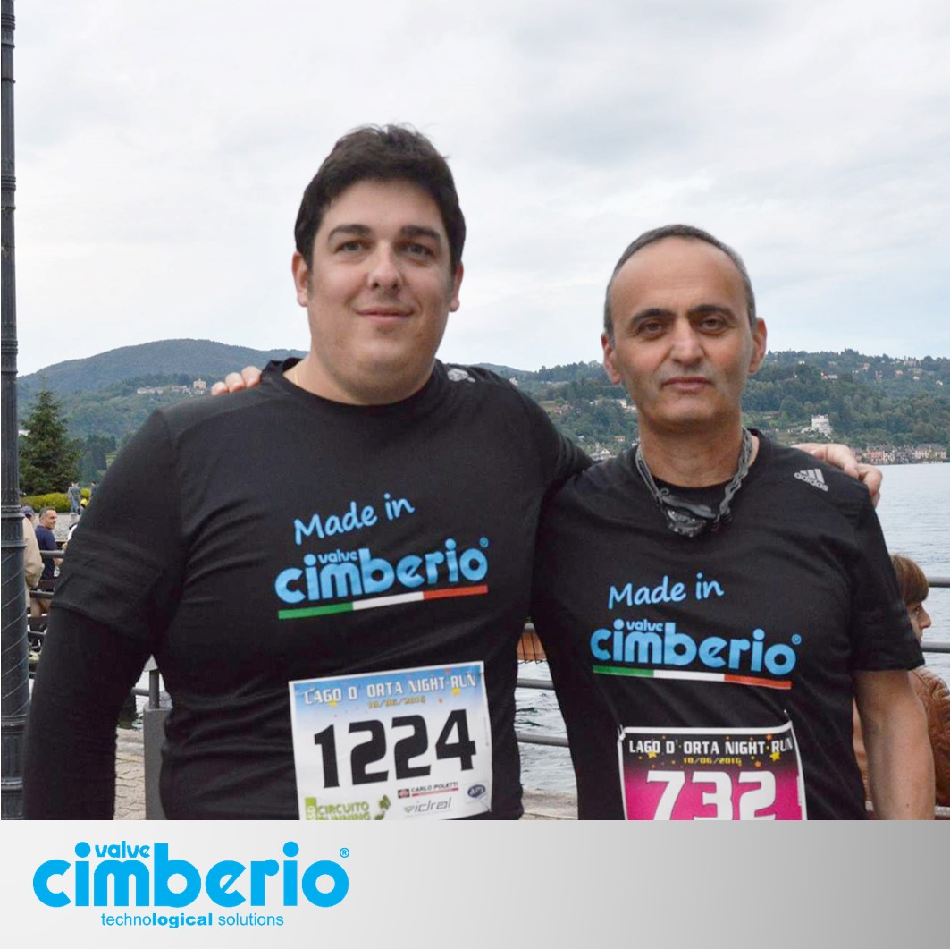 Cimberio alla Lago d'Orta Night Run 2016