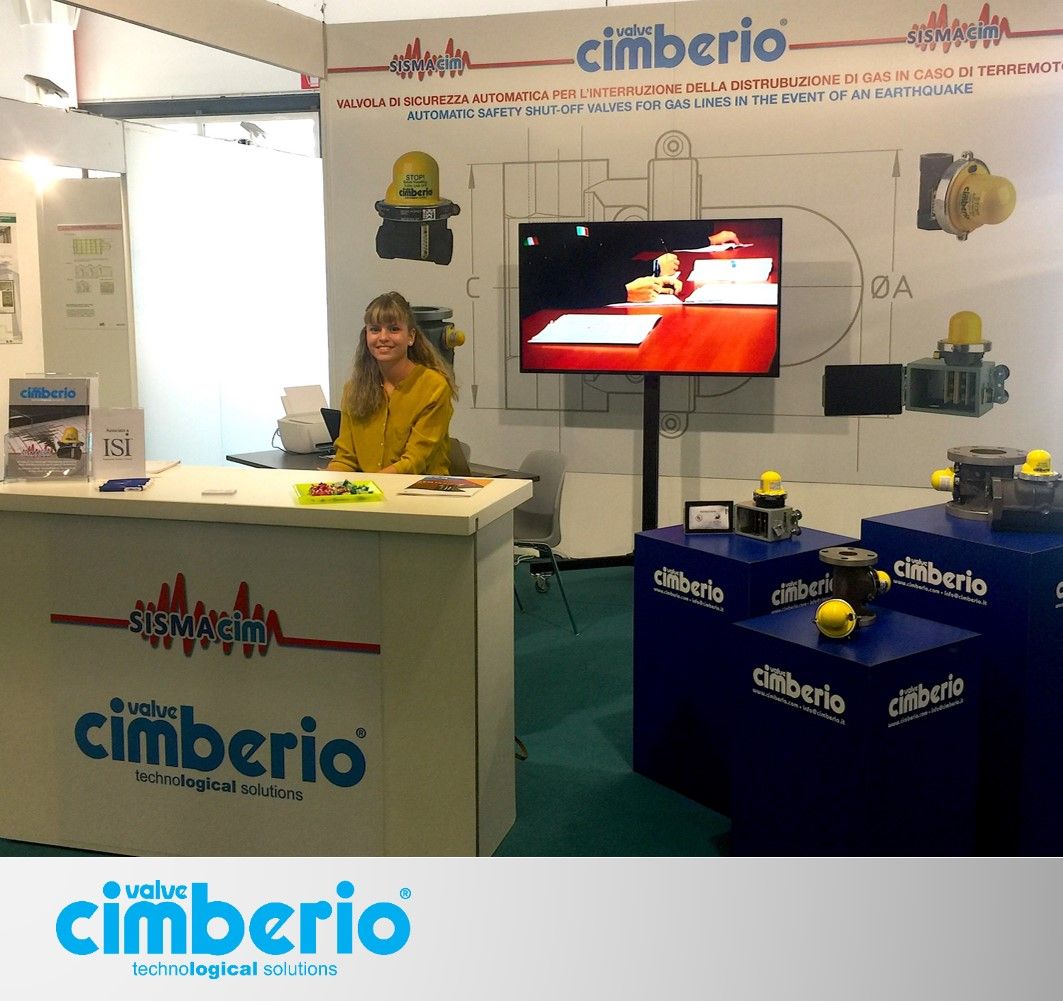 Sismacim: anti-seismic valves for public and private constructions at the RemTech Exhibition