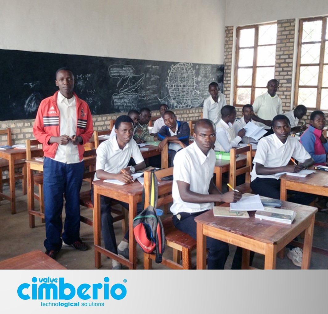 The countdown is on: the school built in Burundi with Cimberio's support will soon open doors