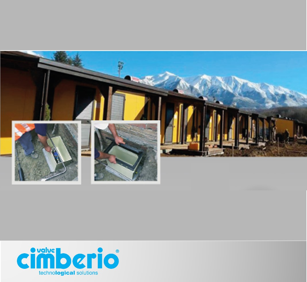 Accumoli and Amatrice: water systems by Cimberio